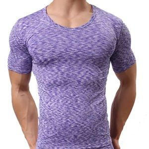 Shirts - Men's Woven Short Sleeve Fitted Performance Shirt